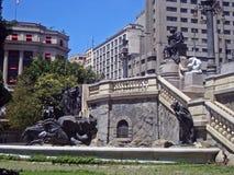 Ramos de Azevedo Square Royalty Free Stock Image
