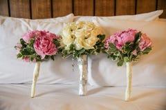 Ramos de la boda Fotografía de archivo