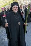Ramos Domingo de Jerusalén Fotografía de archivo