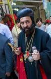 Ramos Domingo de Jerusalén Imágenes de archivo libres de regalías