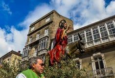 Ramos Domingo en Vigo - Galicia, España Imagen de archivo