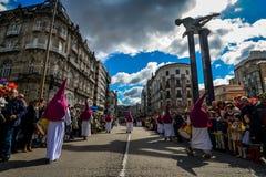 Ramos Domingo en Vigo - Galicia, España Fotos de archivo