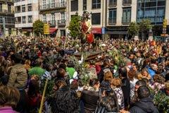 Ramos Domingo en Vigo - Galicia, España Fotografía de archivo libre de regalías