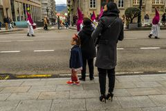 Ramos Domingo en Vigo - Galicia, España Imágenes de archivo libres de regalías