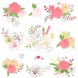 Ramos florales Fotografía de archivo libre de regalías