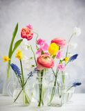 Ramos hermosos de las flores imagenes de archivo