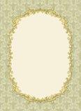 ramowa bezszwowa cienia rocznika tapeta Obrazy Royalty Free