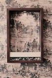 ramowa ściana Obraz Royalty Free