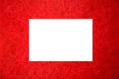 ramowa czerwień Zdjęcie Stock