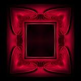 ramowa czerwony ilustracja wektor