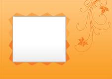ramowa kwiecista zdjęcie Fotografia Stock