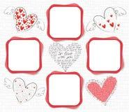ramowa miłość Obraz Stock