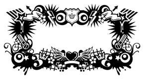 ramowa miłości Obrazy Stock