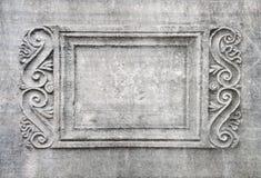 ramowa stara kamienna ściana Zdjęcie Stock