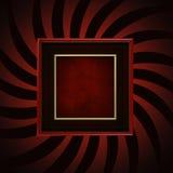 ramowa wybuch czerwień ilustracji