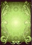 ramowa zieleń ilustracja wektor