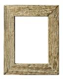 Ramowego drewnianego rocznika prosty styl Fotografia Stock