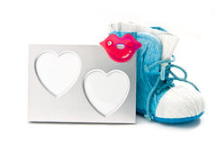 ramowi serca Fotografia Stock