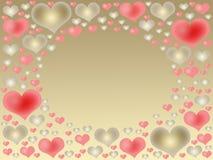 ramowi valentines Zdjęcie Stock