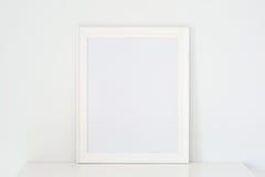 Ramowy biel zdjęcie stock