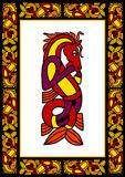 ramowy Celta ornamental Zdjęcia Royalty Free