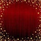 ramowy czerwony sparkly Zdjęcia Royalty Free