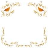 Ramowy Dekoracyjny ornament Fotografia Royalty Free