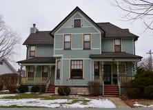 Ramowy dom w Naperville Obraz Royalty Free