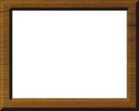 ramowy drewna ilustracja wektor