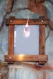 ramowy drewniany Fotografia Stock