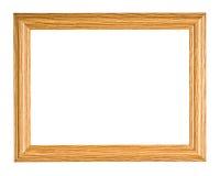 ramowy drewniany Fotografia Royalty Free