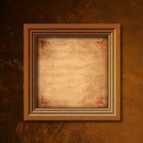 ramowy drewniany Zdjęcia Royalty Free