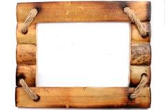 ramowy drewniany Obrazy Royalty Free