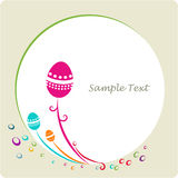 ramowy Easter dekoracyjny ornamental Zdjęcia Royalty Free