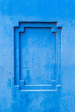 Ramowy grunge cementu ściany tło Zdjęcia Royalty Free