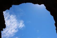 ramowy jamy niebo Zdjęcia Royalty Free