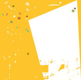 ramowy kolor żółty Zdjęcia Stock