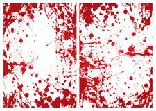 ramowy krwi splat Obraz Stock