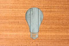 ramowy lampowy drewniany Obraz Stock