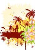 ramowy lato ilustracji