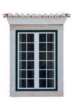 ramowy mieszkaniowy okno Fotografia Royalty Free