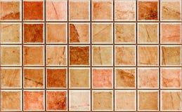 Ramowy mozaiki płytki tło zdjęcie royalty free