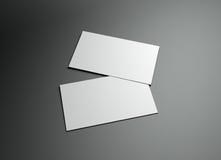 ramowy namecard Zdjęcia Stock