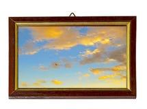 ramowy niebo Obrazy Royalty Free