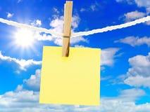 ramowy niebo Obrazy Stock