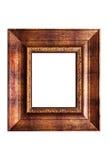 ramowy nieociosany drewna Fotografia Stock