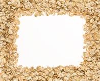 ramowy oatmeal Obraz Stock