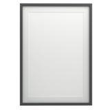 Ramowy obrazek Na Odosobnionym bielu tło Zdjęcie Stock