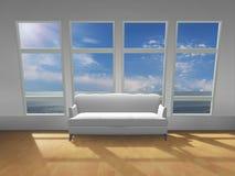 ramowy okno Obraz Stock