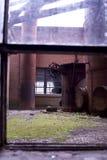 ramowy okno Zdjęcie Stock